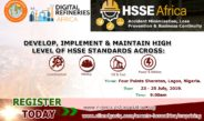 HSSE Africa Conference 2019 In Lagos